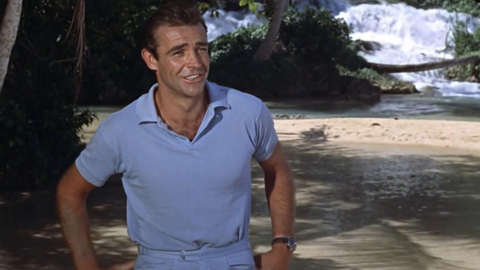 Sean Connery wearing the Submariner Rolex