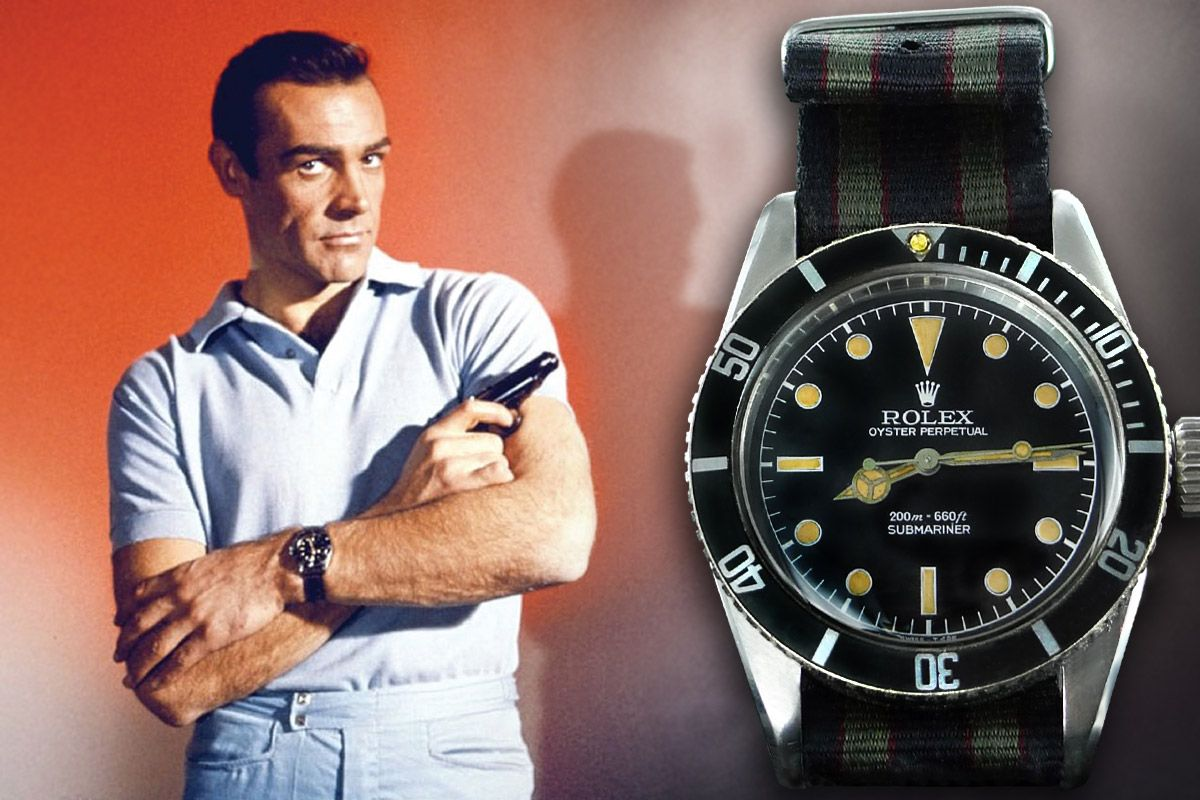 "The Rolex Submariner 6538 ""Big Crown"" - James Bond"