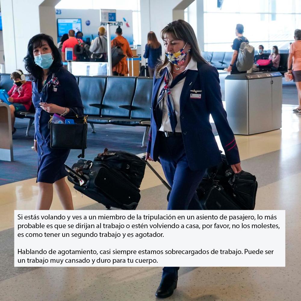 Los asistentes de vuelo comparten 45 cosas oscuras que la mayoría de los pasajeros no conocen