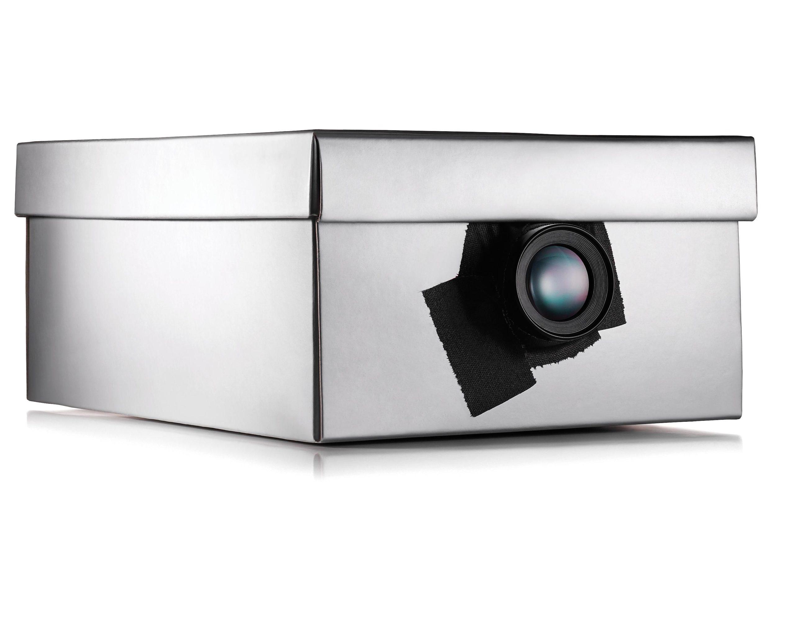 Shoe Box-Phone Projector
