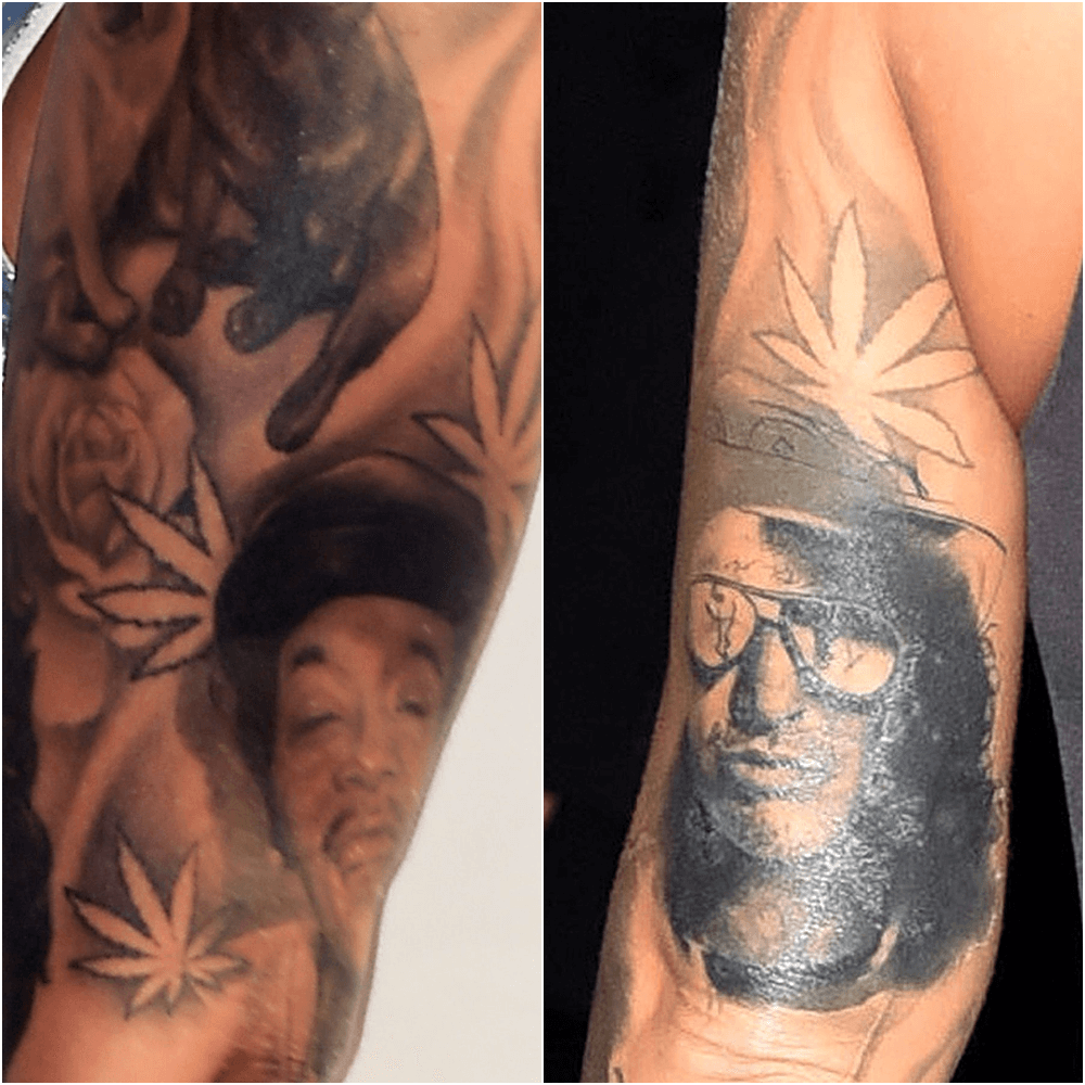 45 Creative Ways People Covered Up Tattoos of Their Exes