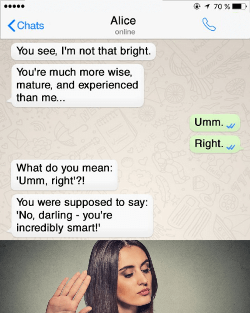 45 Funny Texts That Illustrate the Difference Between Male and Female Logic